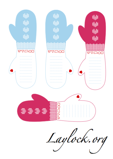 Don't forget you can also download the KnitLove gift tags for free ...