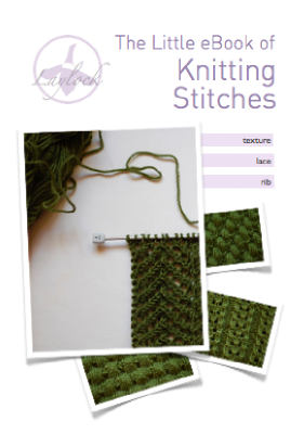 Knitting Stitches Free Ebook : The Little eBook of Knitting Stitches   Laylock Knitwear Design