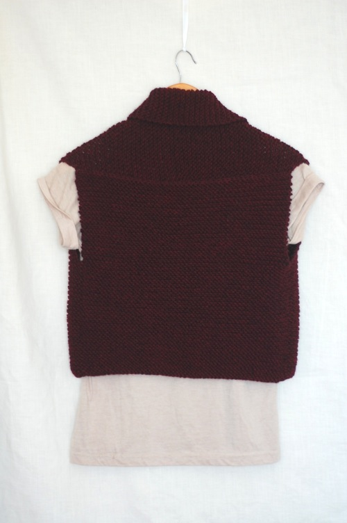 Coze Easy Knit Vest Pattern Laylock Knitwear Design